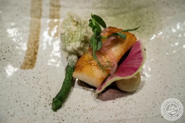 Sweet soy glazed Chilean sea bass at Fushimi in Williamsburg, Brooklyn, NY