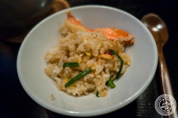 Kamadaki rice  at Fushimi in Williamsburg, Brooklyn, NY