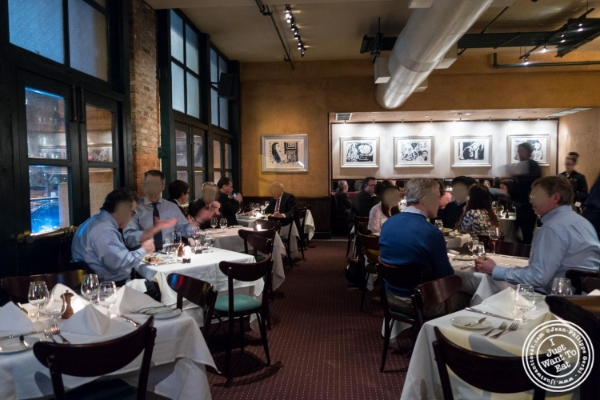 Dining room atTribeca Grill in NYC, New York