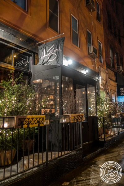 Marc Forgione restaurant in Tribeca, NYC, New York