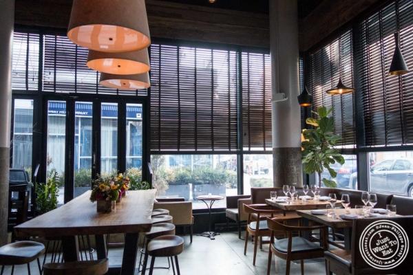 Dining room atL'Apicio, Italian-inspired restaurant in Greenwich Village
