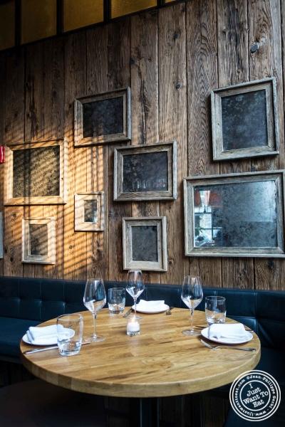 Table atL'Apicio, Italian-inspired restaurant in Greenwich Village