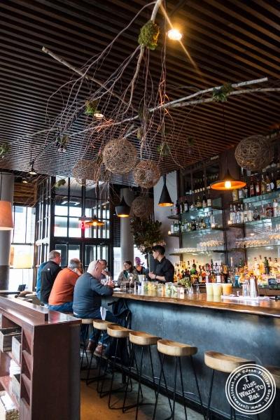 Bar atL'Apicio, Italian-inspired restaurant in Greenwich Village