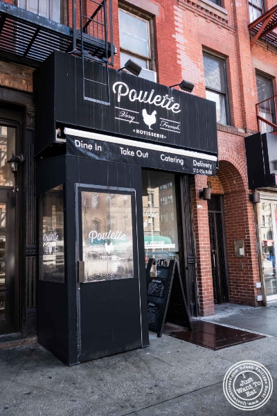 Poulette, Rotisserie Chicken, in Hell's Kitchen, NYC, New York ? I Just Want To Eat! Food ...