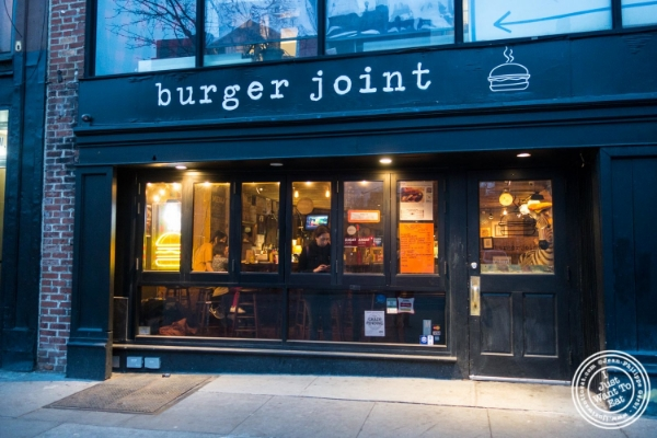 Burger Joint W8th Street in NYC, New York