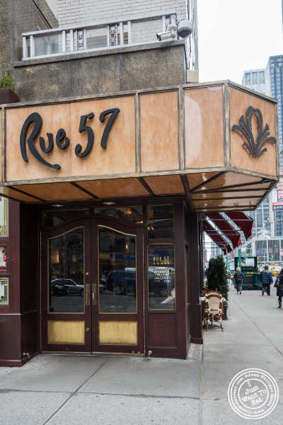 Rue 57 in NYC, New York