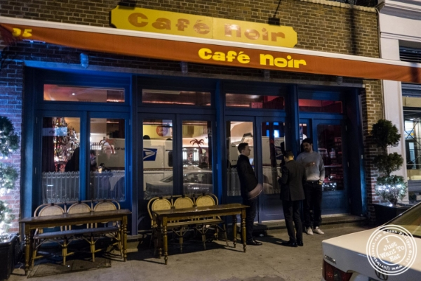 Café Noir in TriBeCa, NYC, New York