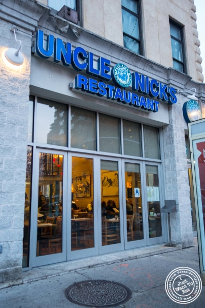 Uncle Nick's, Greek Restaurant in NYC, New York