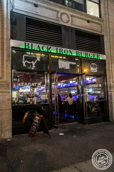 Black Iron Burger in Chelsea, NYC, New York
