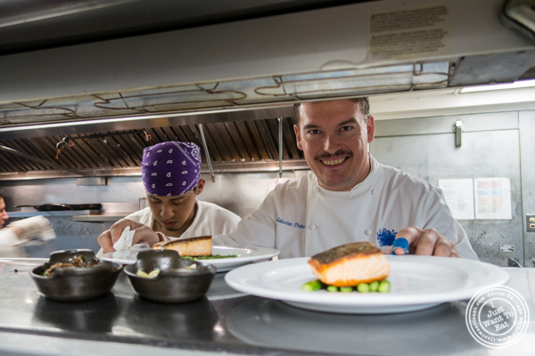 Chef Sebastien Chamaret from Bagatelle  in the Meatpacking District, NYC, New York
