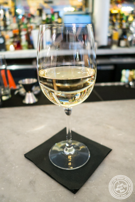 Riesling at Bagatelle  in the Meatpacking District, NYC, New York