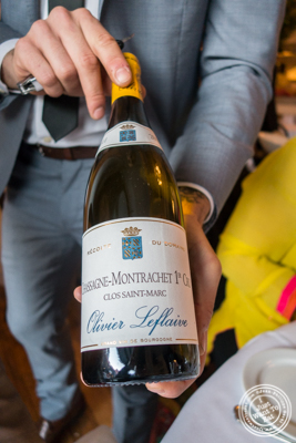 Chassagne-Montrachet 1er cru 2011, Clos Saint Marc atBagatellein the Meatpacking District, NYC, New York