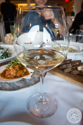 Chassagne-Montrachet 1er cru 2011, Clos Saint Marc at  Bagatelle  in the Meatpacking District, NYC, New York