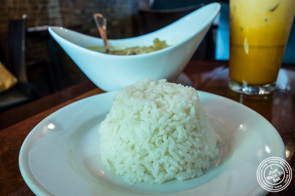 Rice at Luscious Thai in NYC, New York