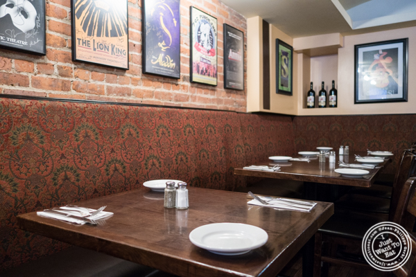 Dining room atPatzeria Family and Friends in NYC, New York