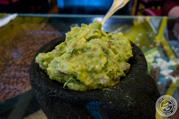 Guacamole at Diego's, Mexican restaurant in Hell's Kitchen