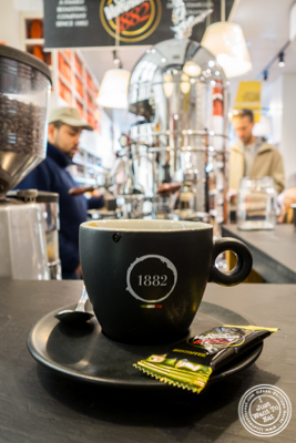 Espressoat Caffe Vergnano,  Eataly in NYC, Ne  w York