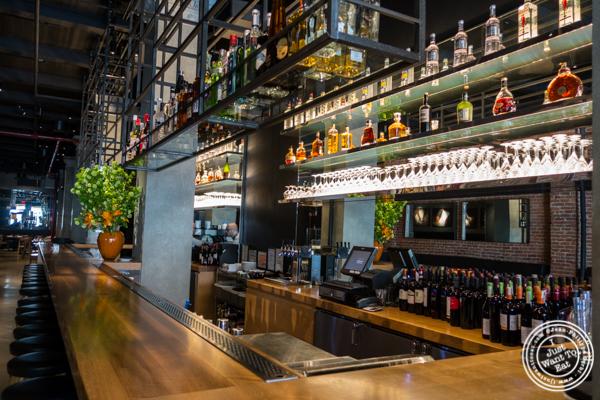 Bar at Obica, Italian restaurant in NYC, New York