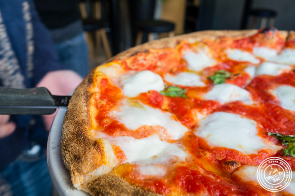 Pizza   at Obica, Italian restaurant in NYC, New York
