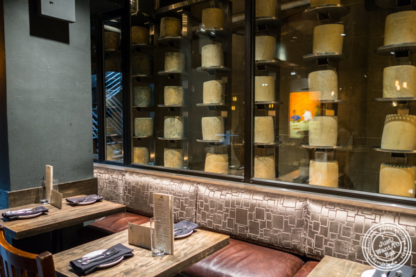 The cellar at Beecher's cheese shop in NYC, New York
