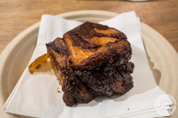 Chocolate babka at   Breads bakery in NYC, New York
