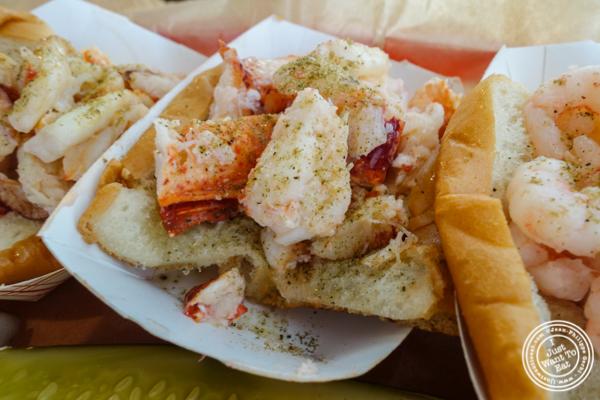 Lobster roll atLuke's Lobster in Hoboken, NJ