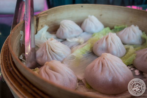Soup dumplings at   Joe's Ginger in Chinatown, NYC, New York