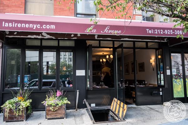 La Sirene, French Restaurant, NYC, New York