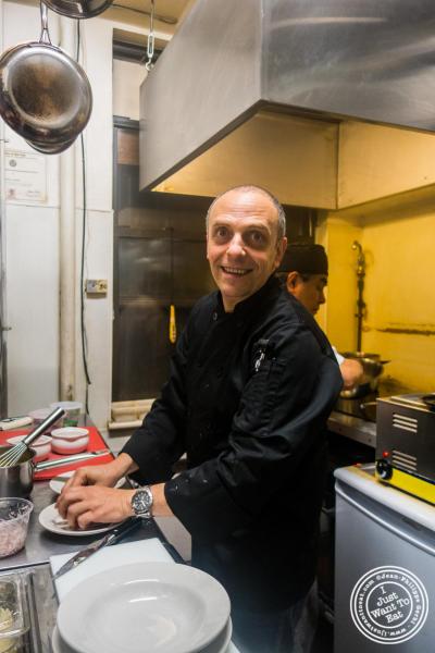 Chef Didier Pawlicki at Le Village