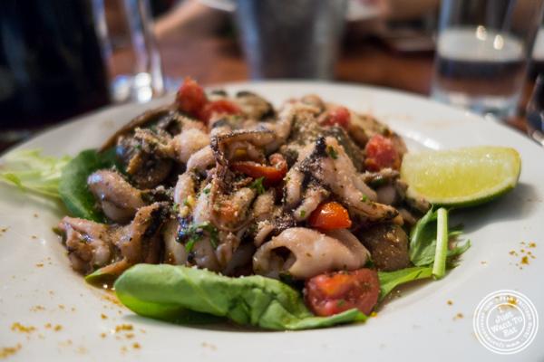 Baby octopusatLa Sirene, French Restaurant, NYC, New York