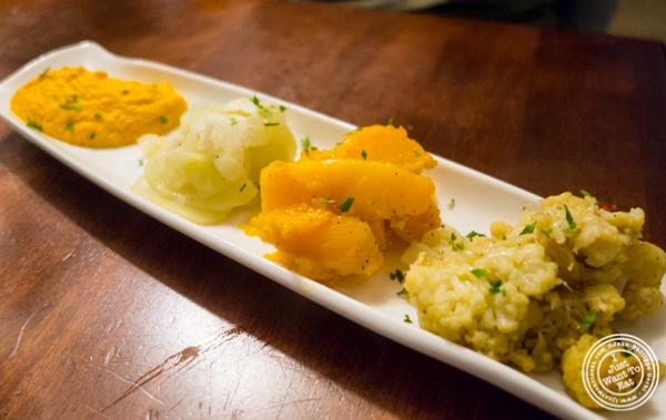 VegetablesatLa Sirene, French Restaurant, NYC, New York