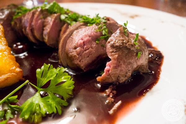 Duck breastatLa Sirene, French Restaurant, NYC, New York