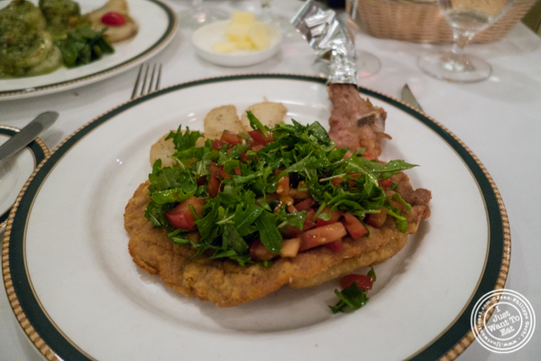Veal Milanese atIl Tinello in NYC, New York