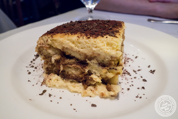 Tiramisu at La Masseria in NYC, New York