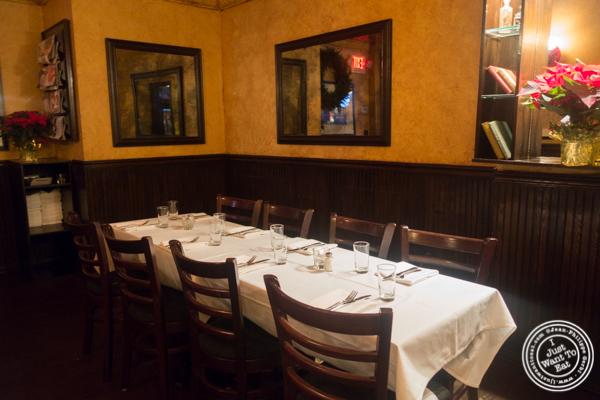 Dining room at Hudson Tavern in Hoboken, NJ