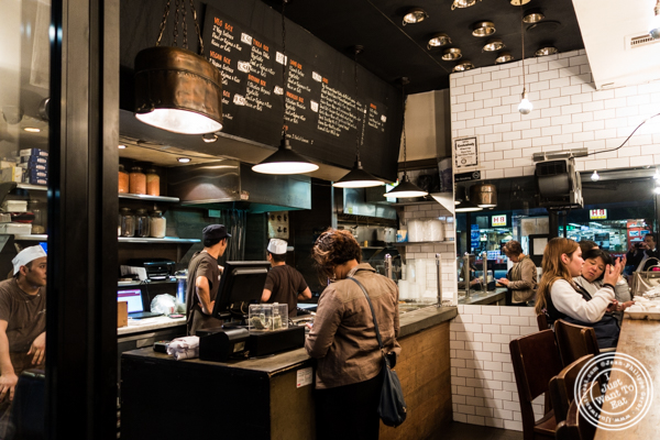 Counter at Patiala in NYC, New York