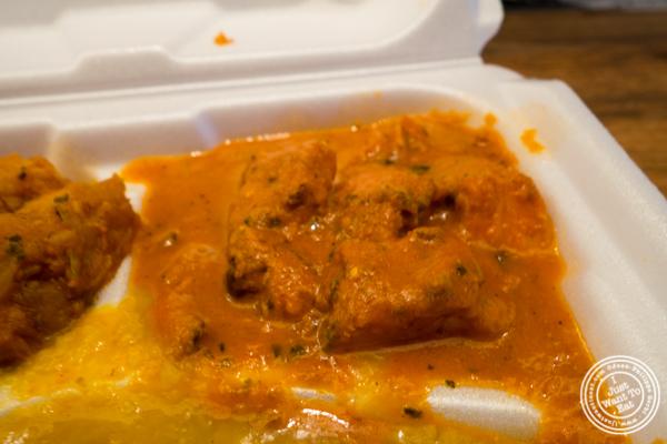 Chicken tikka masala at Patiala in NYC, New York