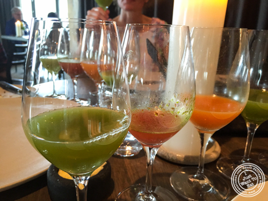 Cabbage juice at Noma in Copenhagen, Denmark