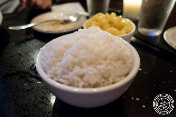 Rice at Hell's Chicken in NYC, New York