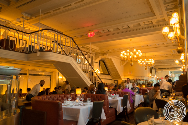 Dining room at Blue Water Grill in NYC, New York