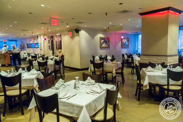 Dining room at Byblos, Lebanese restaurant in NYC, New York