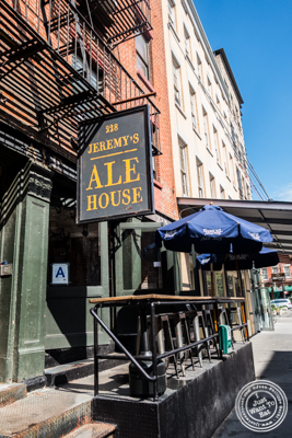 Jeremy's Ale House in NYC, New York