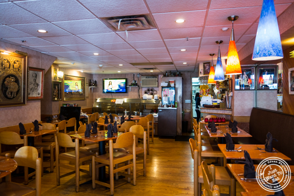 Dining room at Bangkok City in Hoboken, NJ