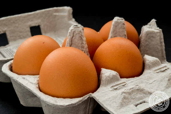 Red Velvet NYC eggs