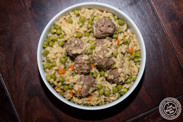 Recipe: Meatballs with Orzo