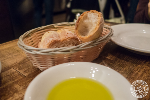 Bread at Max, Italian Restaurant in TriBeCa