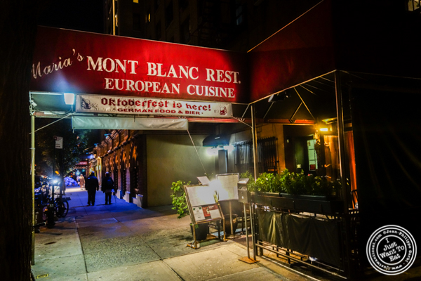 Maria's Mont Blanc in The Theater District, NYC, New York