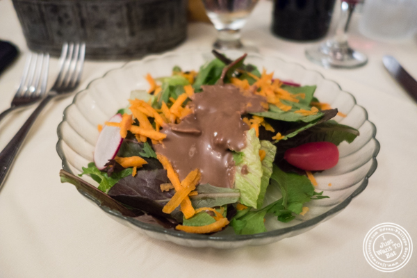 Salad at Maria's Mont Blanc in The Theater District, NYC, New York
