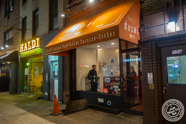 Dosai, Indian restaurant in NYC, New York