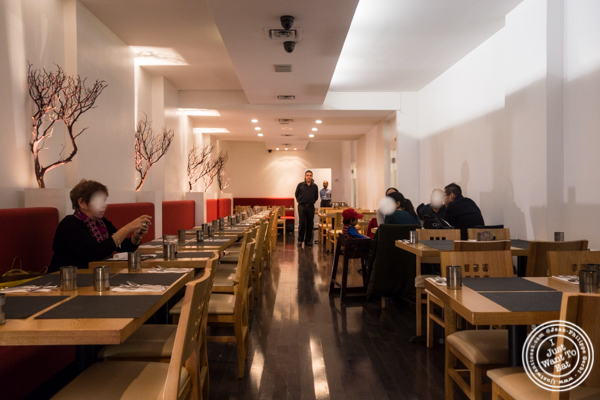 Dining room at Dosai, Indian restaurant in NYC, New York
